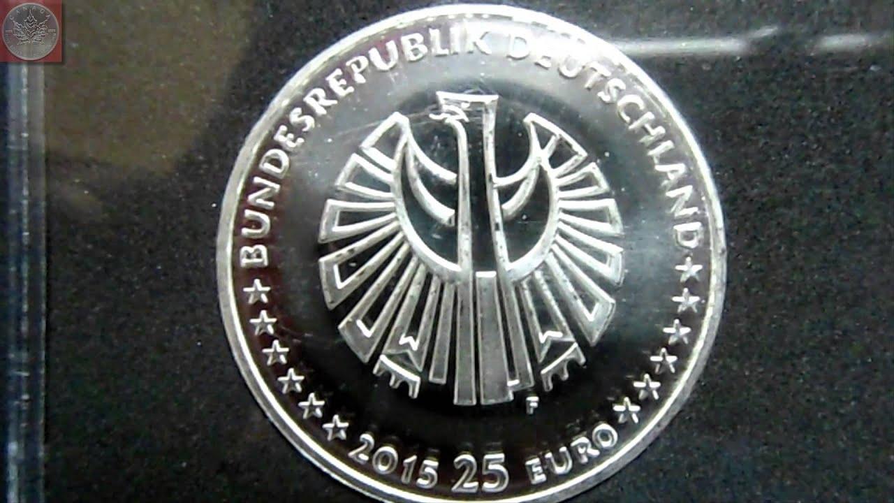 25 Jahre Deutsche Einheit Die Offizielle 25 Euro Münze Der