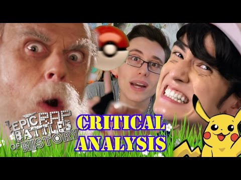 [Critical Analysis] Ash Ketchum vs Charles Darwin. Epic Rap Battles of History. w/Mat4yo