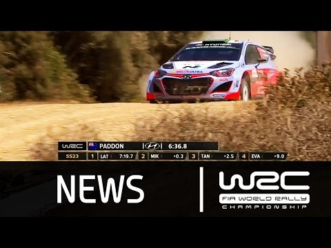 WRC - Rally Italia Sardegna 2015: Stages 19-23