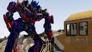 👑 OPTIMUS PRIME vs TRAIN! | GTA 5 Transformers Mod Funny Moments(If you want more drop a BOMB on that LIKE button! :D Join the crew ▻ [http://bit.ly/SubscribeToTCTN] ----------------------------- ▻ More videos like this one: ..., 2016-11-08T20:34:46.000Z)