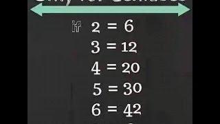 2=6 , 3=12 ,4=20,5=30, 6=42,9=?