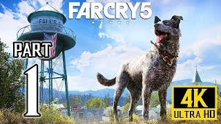 FAR CRY 5 Walkthrough PART 1 (PS4 Pro) No Commentary Gameplay 4K @ 2160p ✔