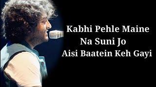 Ishq Mubarak Lyrics | Tum Bin 2 | Arijit Singh | Neha Sharma, Aditya Seal & Aashim Gulati