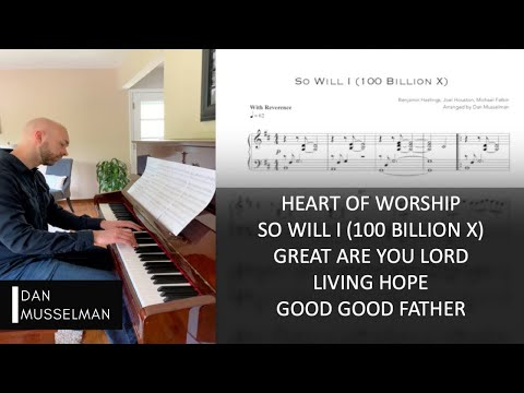 Simple Worship, Vol  1 | Beautiful Piano Arrangements By Dan Musselman