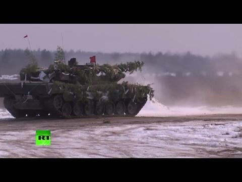 «Российская угроза»: Польша и США начали совместные военные учения