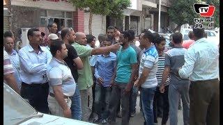 وقفة احتجاجية لعمال شركة المقاولات المصرية ضد «فصلهم تعسفيا»