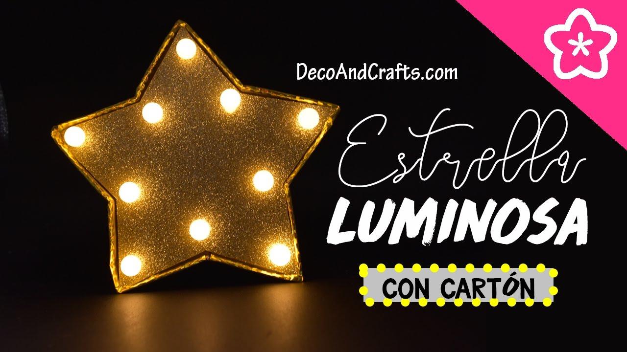 DecoAndCrafts Arbol una hacer DIY de Luminosa Como Navidad Lampara el LED para BdhQoxstrC