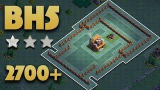 Best Builder Hall 5 Base (BH5) Pushing 2700+ | Builder Base 5 No Battle Machine | clash of clans