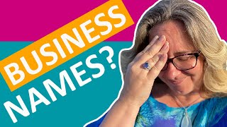 How To Build A Brand | Choosing a Business Name | Sammy Blindell