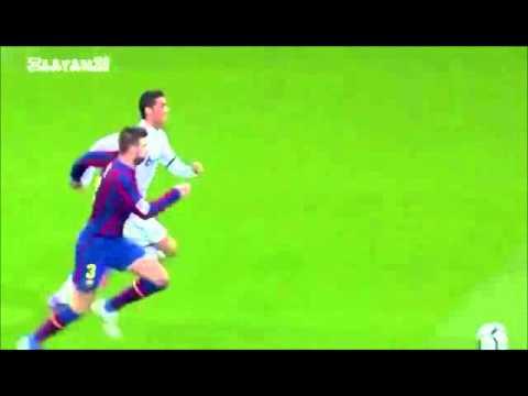 Gerard Piqué is Faster Than Cristiano Ronaldo