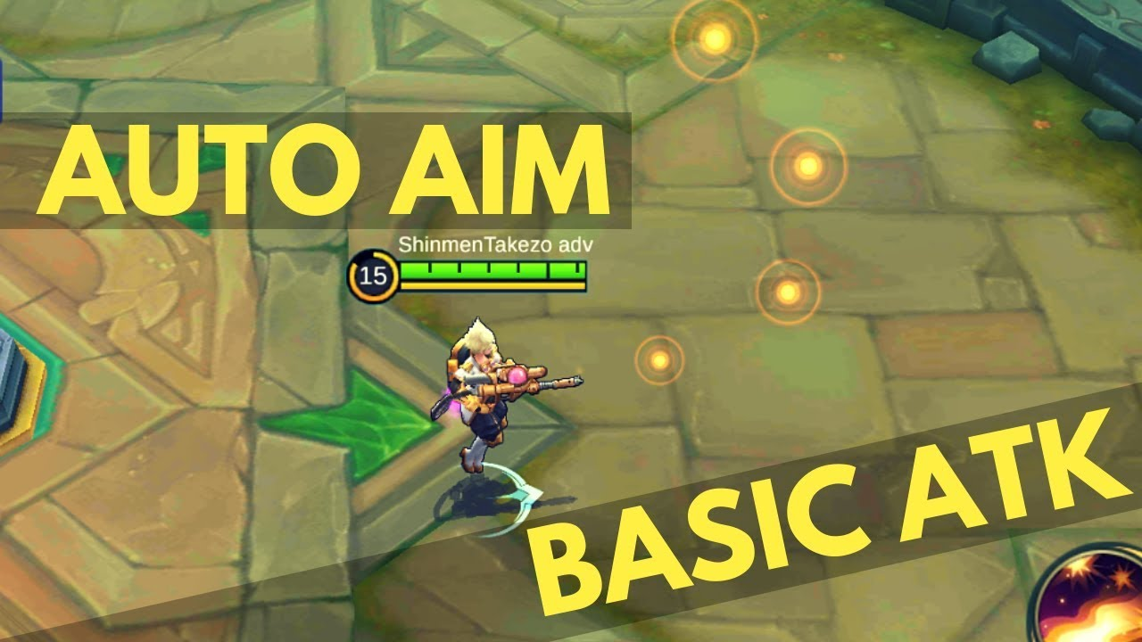 how to auto aim with kimmy | wtfacts | mobile legends