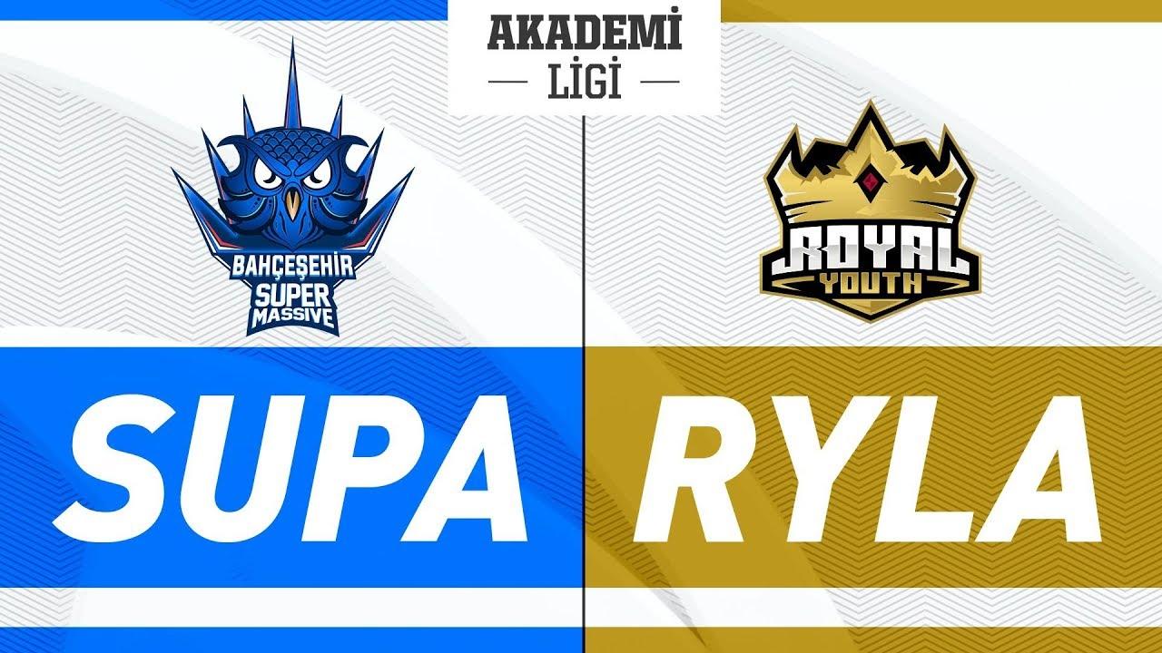 Bahçeşehir SuperMassive A ( SUPA ) vs Royal Youth A ( RYLA ) Videosu