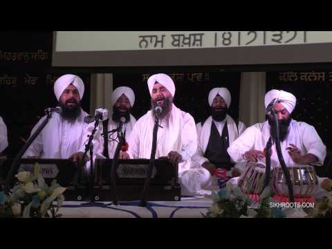 Bhai Bhupinder Singh Sri Ganganagar Wale - New Years Kirtan Divan 2014-15