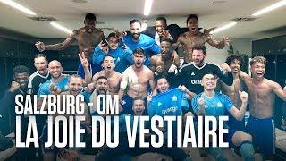 FC Salzburg - OM   La joie du vestiaire Olympien 🔥