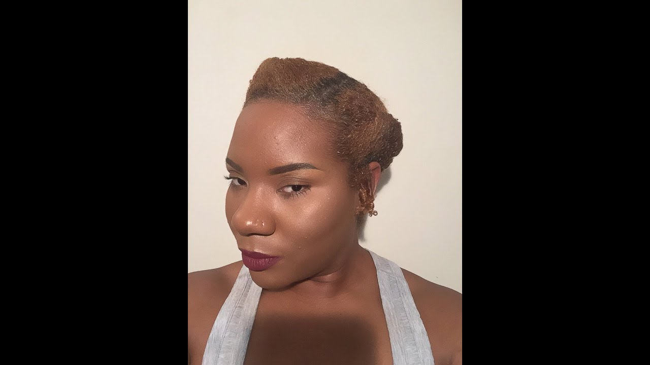 Tuck And Roll Natural Hair Styles