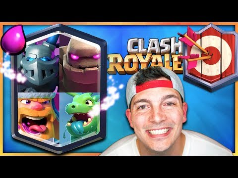 MY TOP 200 PUSHING DECK // Clash Royale