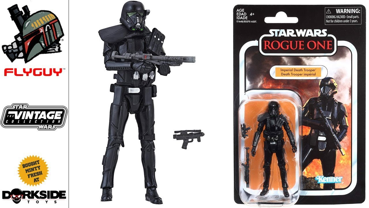 """STAR WARS the vintage collection IMPERIAL DEATH TROOPER 3.75/"""" Rogue One VC127"""