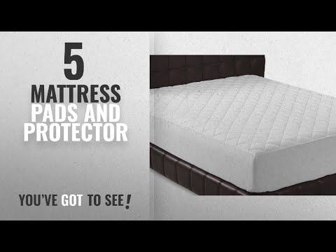 King and Antimicrobial Antibacterial anti-fungal Golden Linens Hypoallergenic Waterproof Mattress Protector Pad With Stretched fitted Deep Pocket Breathable Fiber bamboo