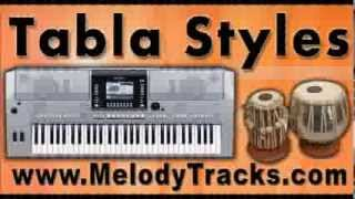 Tere chehre se nazar - Tabla Styles Yamaha Keyboards indian Kit for Bollywood Songs - Classic SET 4