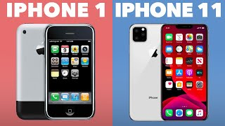 Evolution of the iPhone ( iPhone 1 - iPhone XI )