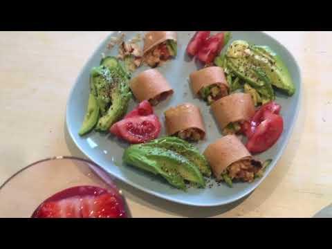 Rohkost-Dinner vegan Bio Raw