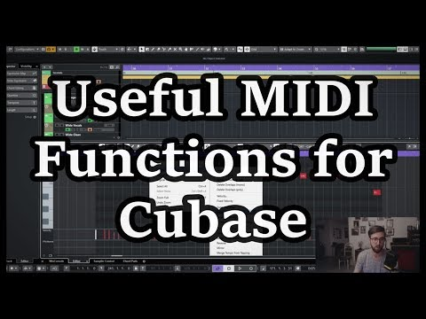 Cubase Quick Tip – Useful MIDI Note Functions