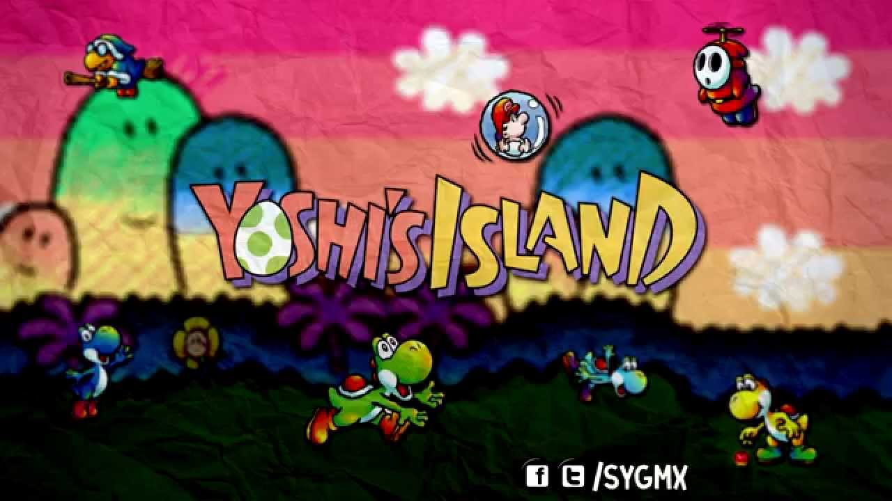 Castle Fortress Yoshi S Island