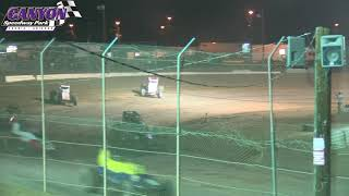 Canyon Speedway Park  USAC Southwest Main  September 14 2019