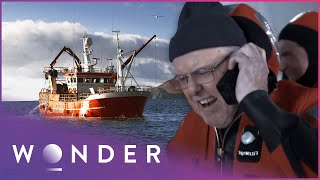 They Were Trapped On A Sinking Ship For 11 Hours | Trapped S1 EP2 | Wonder