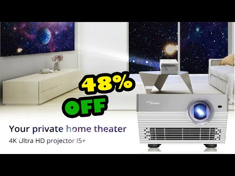 Optoma I5+ 4K Projector Android Blu ray 3D  wow tech review