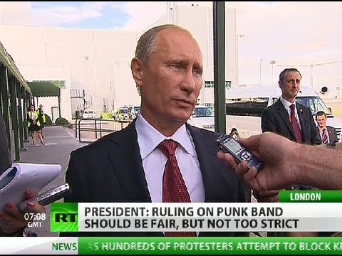 Putin: Pussy Riot should not be judged too harshly
