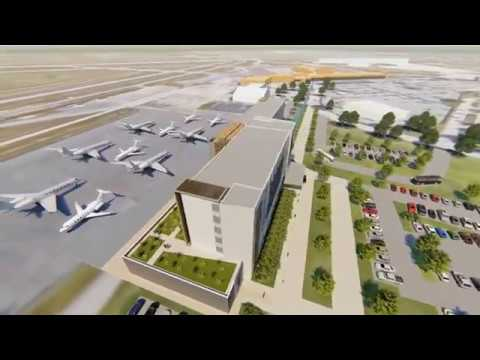 Florida's Orlando Melbourne International Airport proposes Unique Fly In Hotel - Unravel Travel TV