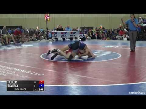 170 f, Jesse Beverly, OH vs Sage Heller, IL