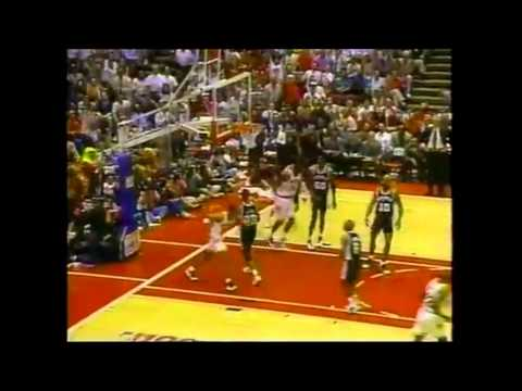 1995 Playoffs: San Antonio@Houston Game 6 HIGHLIGHTS