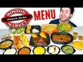 I bought the whole Boston Market menu... literally - EXPENSIVE Fast Food Taste Test