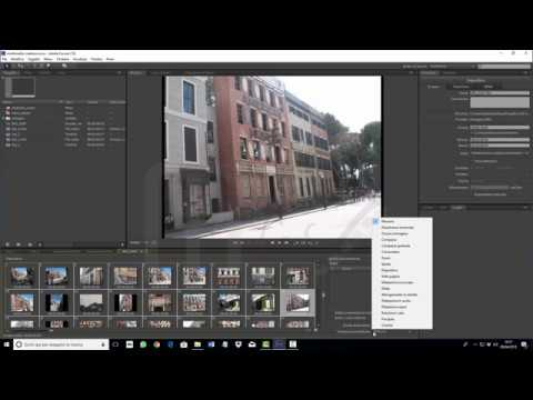 Adobe Encore CS6 - Creare una presentazioni di immagini nel dvd