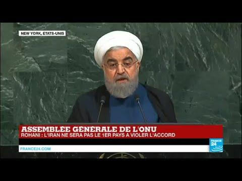 REPLAY - Le discours d''Hassan Rohani, président iranien, à l''ONU