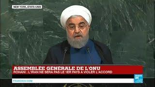 Video REPLAY - Le discours d''Hassan Rohani, président iranien, à l''ONU download MP3, 3GP, MP4, WEBM, AVI, FLV Oktober 2018