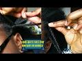 How to twist your own hair | A talk through video.