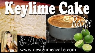 Best Key Lime Cake Recipe
