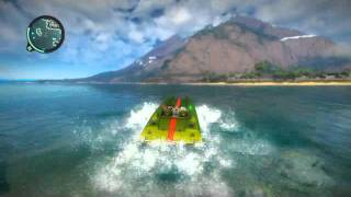 Just Cause 2 boats pwn