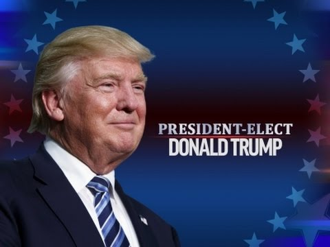 Donald Trump Is The New President