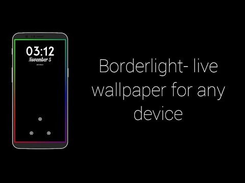 borderlight live wallpaper for any device youtubeyoutube tv more live tv to love