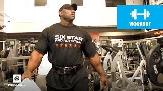 IFBB Pro Dexter Jackson's Bodybuilding Leg Workout for Mass | Classic Workout (HD)