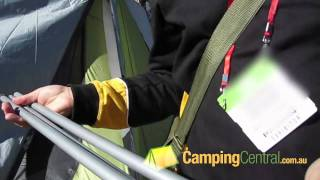 behind the scene oztrail awning poles and guy ropes