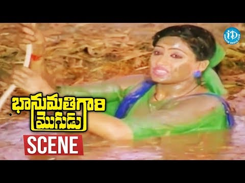 Bhanumathi Gari Mogudu Scenes - Balakrishna Fights With Goons || Vijayashanti