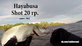Ловля жереха на пилькер. Shot ( 20 грамм) от Hayabysa.