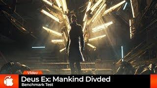 Deus Ex: Mankind Divided - Mac Ultra Benchmark
