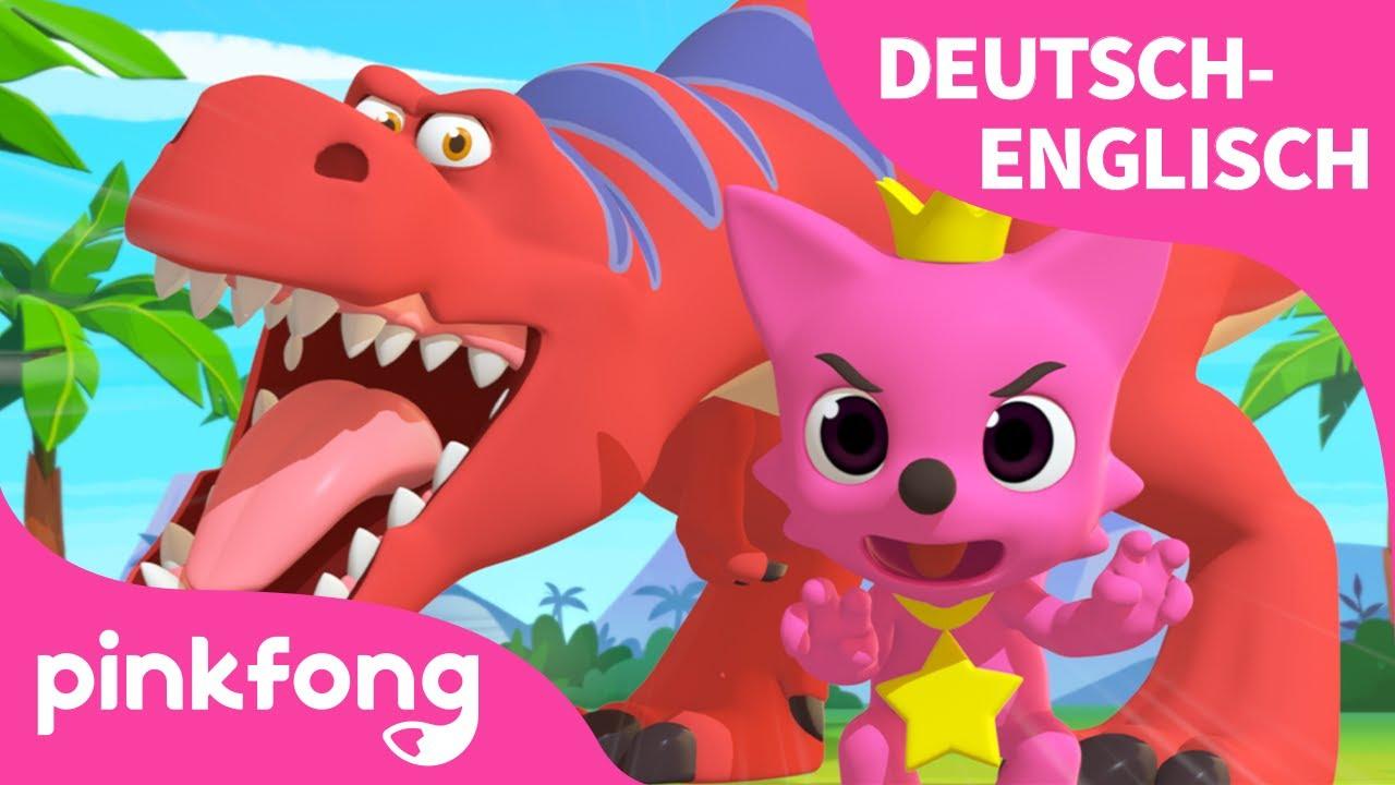 Tyrannosaurus Rex Tanz   Englisch Lernen   Dinosaurier - Lied   Deutsch   Pinkfong Lieder für Kinder