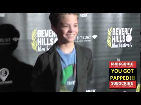 Connor Finnerty at the Beverly Hills Film Festival   Opening Night Premiere Of The Lennon Report And